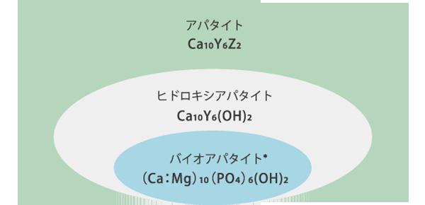 BIOHEPATITE®(Ca:Mg)10(PO4)6(OH)2